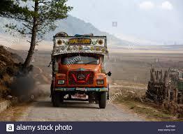 100 Truck Carrier Goods Tata Truck Bhutan Stock Photo 28822495 Alamy