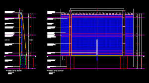 The Drawing Of Anti Climb Fence Installation Including Cad Details Fencing 2 4m High Clear Vu Ii Perimeter Security