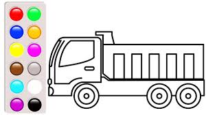 100 Construction Truck Coloring Pages Dump Fresh Book