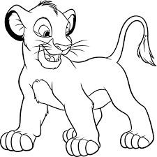 Lion Coloring Free Animal Pages Sheets