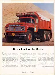 Photo: May 1971 Dump Truck Of The Month | 05 Overdrive Magazine May ... Barnes Transportation Services Owner Operator Truck Insurance Commercial Dump Jobs In Arkansas Tri Axle Day And Life Of A Dump Truck Driver Toronto Ont Youtube Orlando Blog Forunner Group Ohio 189 Playing With Dirt The Life An Flatbed Bc Big Rig Weekend 2007 Protrucker Magazine Canadas Trucking Home Dsr 2016 Western Star 4900sa Tandem Bailey Tampa Florida Homeowners