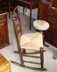 Georgian Oak Ladder Back Rocking Chair With Rush Seat ... 6 Ladder Back Chairs In Great Boughton For 9000 Sale Birch Ladder Back Rush Seated Rocking Chair Antiques Atlas Childs Highchair Ladderback Childs Highchair Machine Age New Englands Largest Selection Of Mid20th French Country Style Seat Side By Hickory Amina Arm Weathered Oak Lot 67 Set Of Eight Lancashire Ladderback Chairs Jonathan Charles Ding Room Dark With Qj494218sctdo Walter E Smithe Fniture Design A 19th Century Walnut High Chair With A Stickley Rush Weave Cape Ann Vintage Green Painted