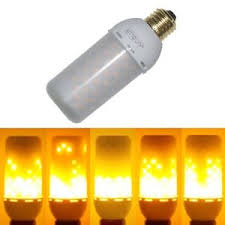 junolux led burning light flicker light bulb effect
