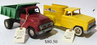 Hap Moore Antiques - Auctions 1950s Structo Hydraulic Toy Dump Truck Vintage Light 992 Lot 569 Toys No7 City Of Toyland Pressed Steel Utility Farm White Colored Hard Plastic Lamb Accessory Corvantics Corvair95 Vintage Structo Toys Pressed Steel Truck And Trailer Model Antique Toy Livestock Vintage Metal Toy Wrecker Truck Oilgas Red Good Hilift High Lift Lever Action Blue And Yellow 1967 Turbine 331 Auto Transporter Wcars Ramp Colctibles Signs Gas Oil Soda