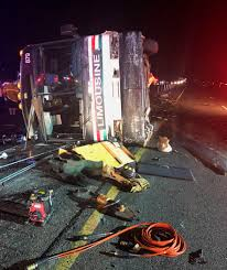 3 Dead, 22 Sent To Hospital After Bus Crashes In New Mexico – Las ... Accident Snarls Traffic On Sb 15 Freeway Wednesday Night Victor More Tough Tesla Headlines This Week Cluding Troubling Video Trophy Truck Crash On Finish Line At Baja 1000 2017 Youtube Slams Into Fire Truck Stopped Red Light In Utah Las Vegas Witness Called 911 Twice Before Fatal Dump Medium Duty Multiple People Killed When Tour Bus Collides With Semitruck Weekend Mojave Offroad Race Approved Following Deadly Crash Nbc Video Drowsy Driving Leads To Nevada Memorial Ride Fundraiser Happening Today For Local Woman Daughter 8 Dead 12 Hurt Calif Desert Southern 395 California Stock Photos