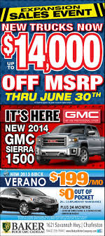 Save $14,000 On A GMC Truck - Sales Ends THIS SATURDAY! | Baker ... Gmc Sierra Denali 3500hd Deals And Specials On New Buick Vehicles Jim Causley Behlmann In Troy Mo Near Wentzville Ofallon 2017 1500 Review Ratings Edmunds 2018 For Sale Lima Oh 2019 Canyon Incentives Offers Va 2015 Crew Cab America The Truck Sellers Is A Farmington Hills Dealer New 2500 Hd For Watertown Sd Sharp Price Photos Reviews Safety Preowned 2008 Slt Extended Pickup Alliance Sierra1500 Terrace Bc Maccarthy Gm