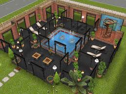 Sims Freeplay Second Floor by Variation On Stilts House Design I Saw On Pinterest Thesims