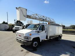 100 Gmc C4500 Truck 2006 GMC TELELIFT 42ft Bucket Box M03890 S