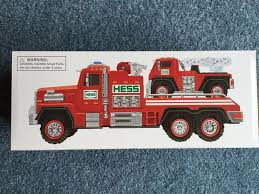 100 Hess Toy Truck Values HESS 2015 HESS TOY TRUCK FIRE TRUCK AND LADDER RESCUE Brand New