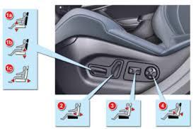 reglage siege auto manuel du conducteur citroën c5 ii réglages électriques sièges