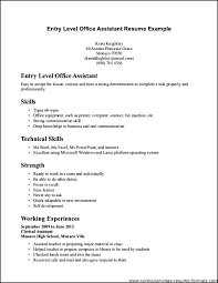 Medical Office Assistant Resume Objective Examples Download Samples Administrative