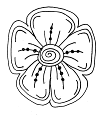 956x1092 How To Draw Easy Flowers Finest Flower Coloring Page