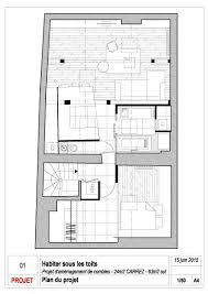 100 Attic Apartment Floor Plans Gallery Of Living Under The Roof Prisca Pellerin 15 I