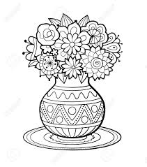 Livre De Coloriage Vases Illustration De Vecteur Illustration Du