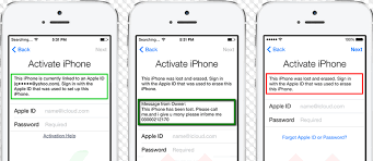 Activate a used iPhone iCloud Unlock for Lost or Stolen iPhones