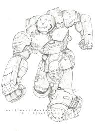 Hulk Coloring Paper Unique Hulkbuster Iron Man Coloring Pages Sketch