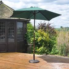 Garden Parasol Umbrella Outdoor Patio Furniture Sun Shade Structures Canopy Wood GardenParasolUmbrella