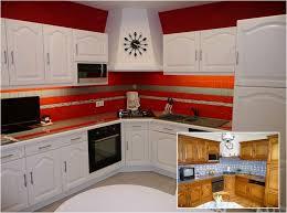 repeindre sa cuisine rustique relooker cuisine rustique avant après inspirant photos repeindre