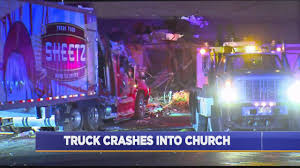 100 Virginia Truck And Trailer Crashes Into Southside Church