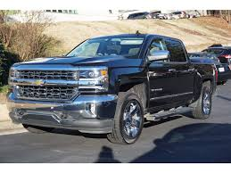 100 Black Trucks For Sale Used 2018 Chevrolet Silverado 1500 Truck Crew Cab LTZ