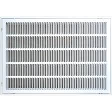 Decorative Air Conditioning Return Grille by Truaire 24 In X 30 In Steel Return Air Filter Grille White H190