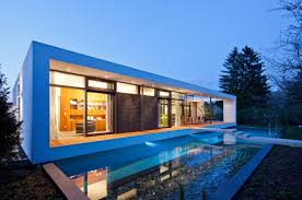 Architecture: Elegant Contemporary House In Germany — Exposure ... Modern Small Homes Designs Exterior Home Smart Space Design House In Konan By Coo Planning For Lot Beautiful Indian Contemporary Suburban New Home Atlanta On Exposed Corner Lot Prepoessing 30 Ideas Decorating Of Single Storey Kitchen Interior Normabuddencom 20 Custom Houston Coastal Plan 65567 Luxury Floor Plans Picture Myfavoriteadachecom Capvating Decor C Moder