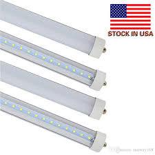 t8 8ft 45w led light single pin fa8 base 6000k cold white 8