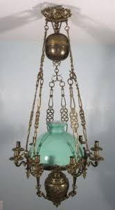 Oil Rain Lamp Instructions by Antique Hanging Oil Lamps Foter