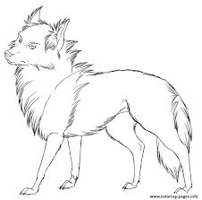 Peaceful Design Ideas Cool Printable Coloring Pages Wolf S Free