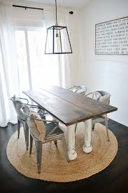 New Farmhouse Table Dining Room