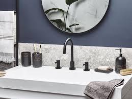 badezimmer zubehör schwarz gold lanco ch