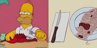 animation cuisine springfield cuisine is the only food aesthetic i care about on