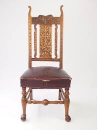 Antique Carved Oak High Back Chair / Hall Chair | 290052 ... Carved Mahogany High Back Ding Side Chairs Collectors Weekly Arm Chair Kiefer And Upholstered Rest From Followbeacon Antique Vintage Set Of 6 Edwardian Oak French Style Fabric Solid Wood Wooden Buy Chairupholstered Chairssolid Beautiful Of Eight Quality Victorian 19th Century Renaissance Throne Four Antiquue Early 20th Art Deco Classical Chinese Fniture A Collecting Guide Christies Pdf 134