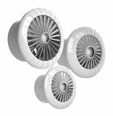 details zu wand decken ventilator mit kugellager 100 120 150 mm dauerbetrieb lüfter bad wc