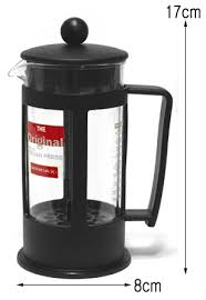French Press Coffee Maker Brewing Tea Plunger Pot Windax Italian