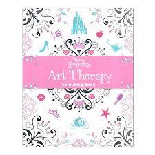 WS Disney Princess Art Therapy Coloring Book