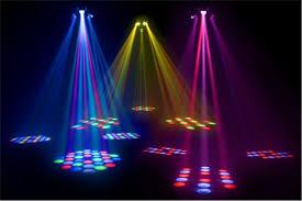 American DJ Triple Flex DMX LED Light Centerpiece