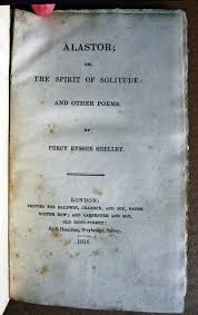 ALASTOR OR THE SPIRIT OF SOLITUDE AND OTHER POEMS London Baldwin Cradock And Joy 1816 First Edition Hardcover Title Page Tipped In