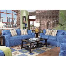 Cindy Crawford Home Beachside Denim 8 Pc Livingroom Rooms To Go Livingroom furniture