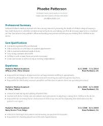 Sample Medical Administrative Assistant Resume For Entry Level Profile Medica