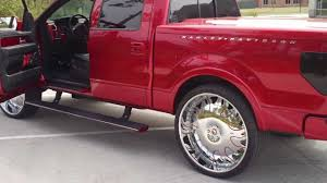 Candy Red Harley Truck On 30