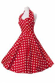 Pokadot Red Dress