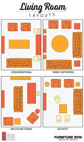 Long Rectangular Living Room Layout by Best 25 Apartment Furniture Layout Ideas On Pinterest Furniture