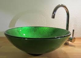 bad gäste wc waschtisch aufsatz glas waschbecken waschschale