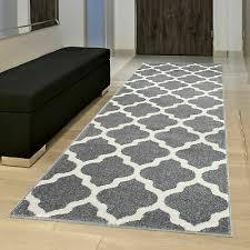 designer teppich skandinavisch grau gitter marokkanisch