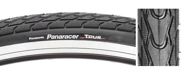 Bicycle Tire Panaracer Tour - 700x32, Wire Black