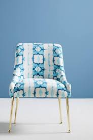 Minara-Printed Elowen Chair | Lovenest | Fabric Dining Room Chairs ...