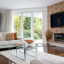 Use A Floral Wallpaper In An Awkwardly Shaped Room