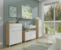 monson badezimmer komplettset 2 grandson eiche weiß günstig möbel küchen büromöbel kaufen froschkönig24