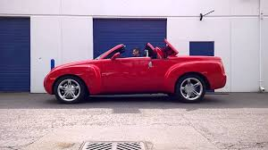 Chevy SSR Convertible Top Demonstration - YouTube